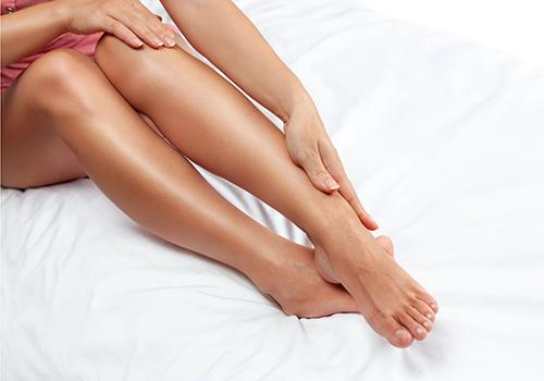 הסרת שיער ברגליים